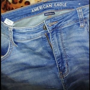 American Eagle Outfitters Jeans - AE Super Soft Super High Waisted Jegging Crop
